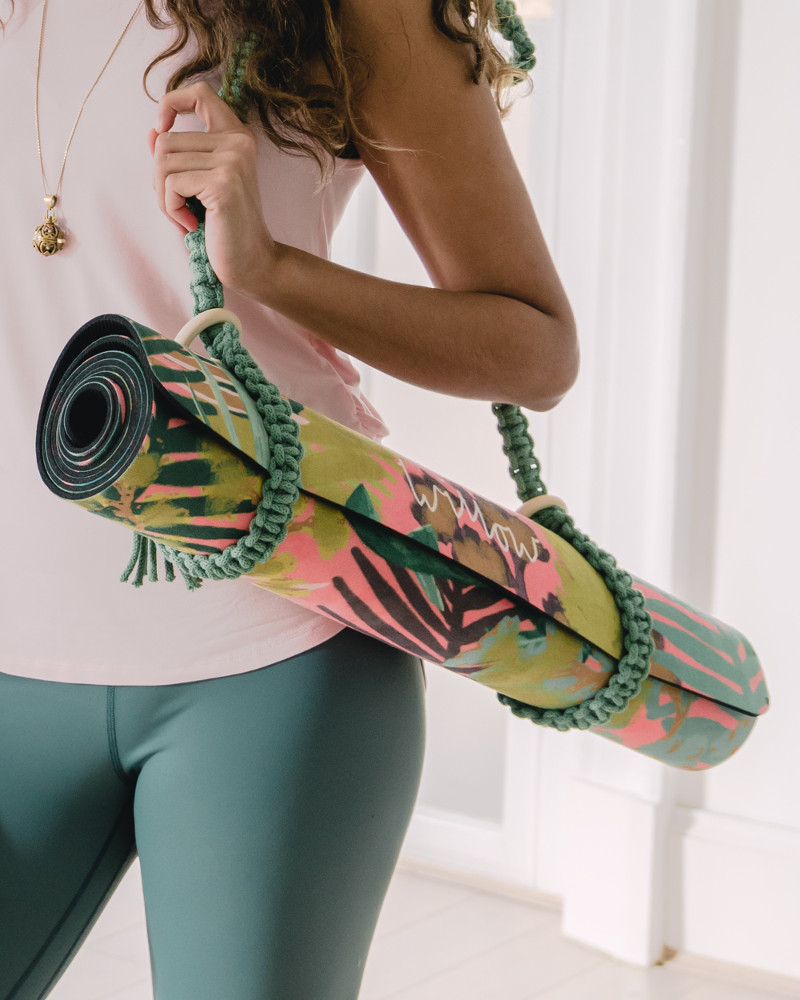 Willow Yoga design sustainable and environmentally friendly luxe printed yoga mats & microfibre gym towels for your daily yoga practice.