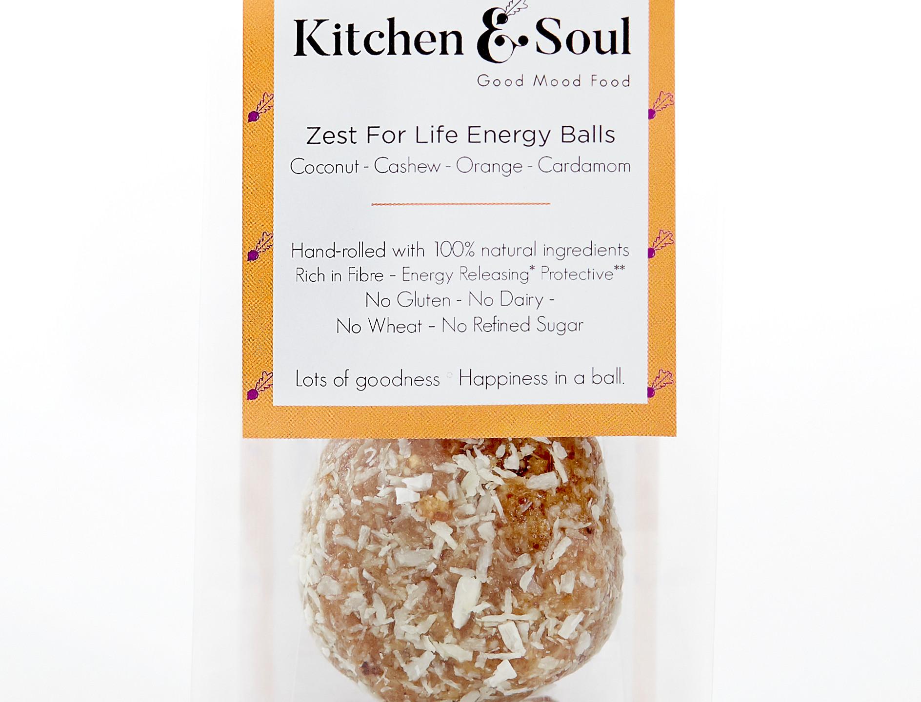 Zest For Life Energy Balls