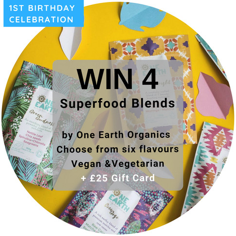 WIN 4 Superfood Blends Of Your Choice Enriched With Ethically Sourced Cacao, Beetroot, Baobab, Chia,