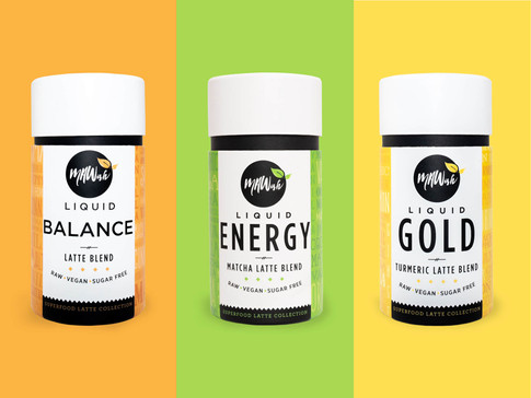4 Ways To Use Vegan Salted Caramel, Matcha And Turmeric Latte Blends by MAWish Food