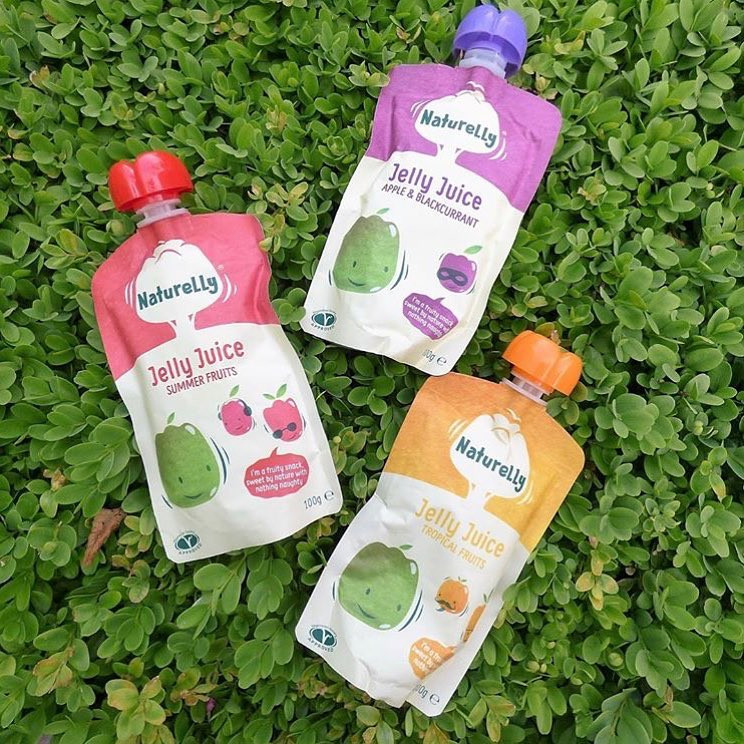 Naturelly Jelly Juice Snack For children