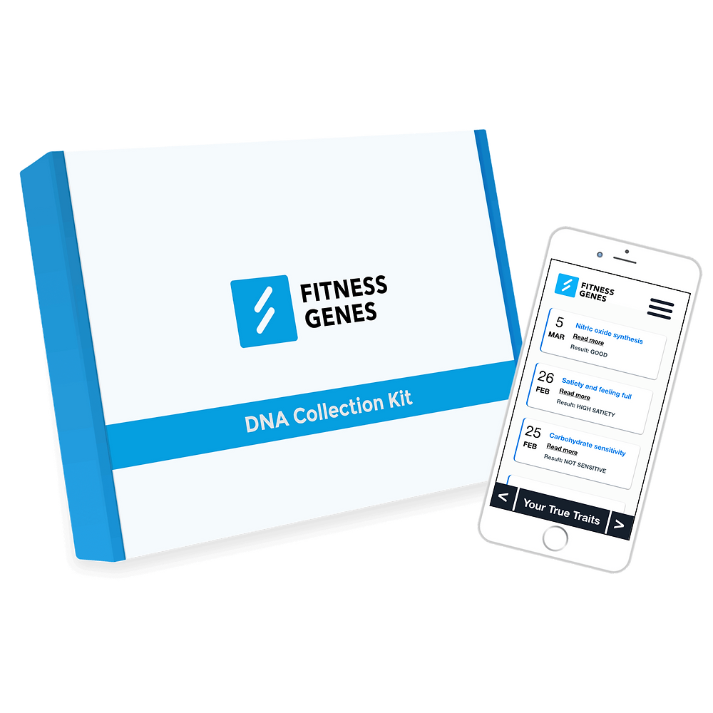 FitnessGenes DNA Analysis & Upload Service for personalised fitness and weight loss insights