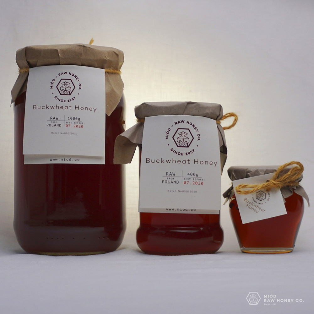 Raw Buckwheat Honey by Miod Raw Honey Co