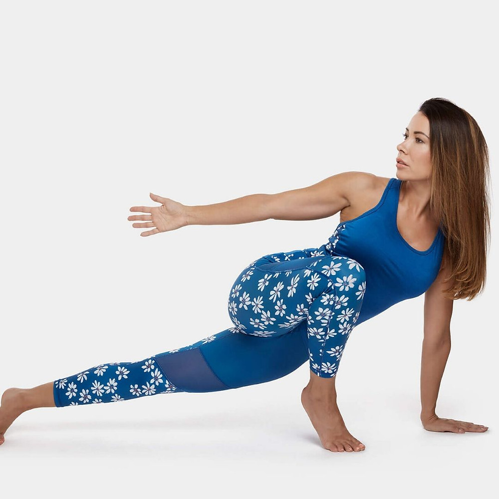Perky Peach Sustainable & Eco Friendly Activewear with bold, colourful prints that are multi-functioning, flattering and comfortable