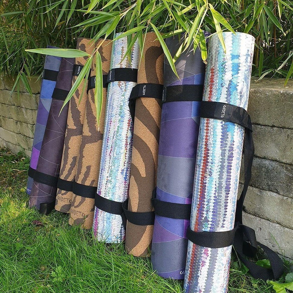 Best Grip - Non-Slip microfibre and cork yoga mats, combining beauty, functionality and eco-friendliness by ONDETO