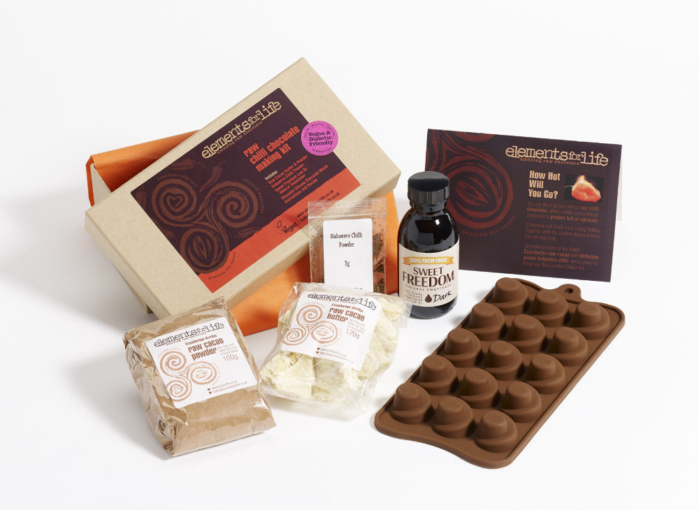 Raw Chilli Chocolate Making Kit