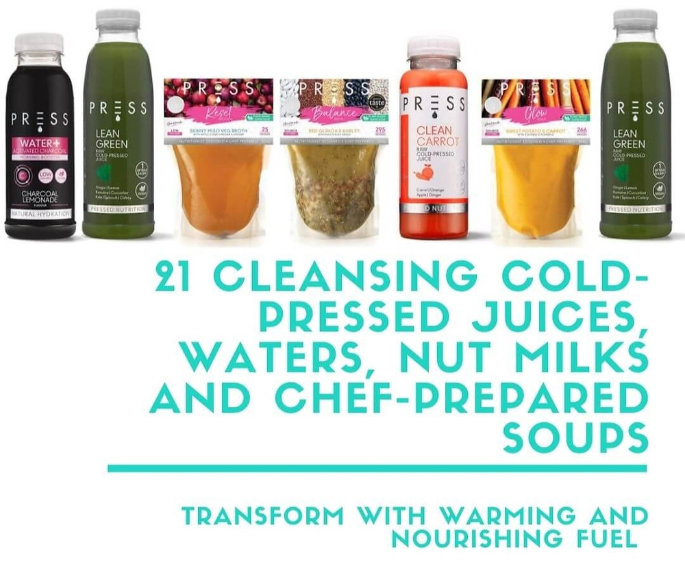 Fill Your Fridge - 21 Cleansing Cold-Pressed Juices, Waters, Nut Milks and Chef-Prepared Soups