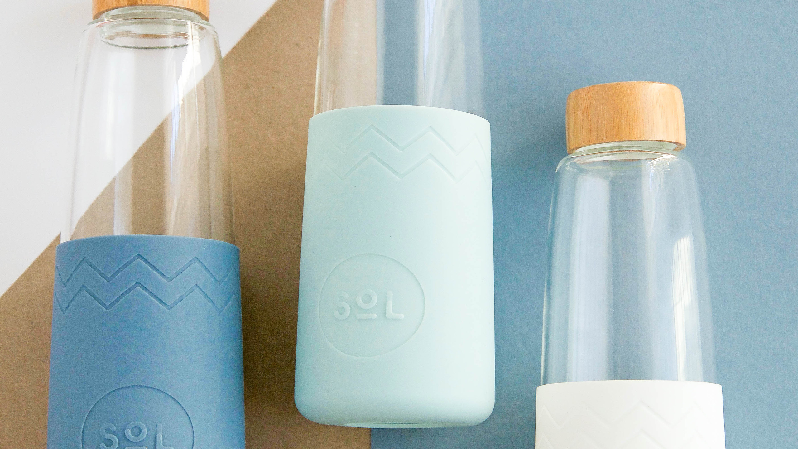 Reusable Glass Bottle by SoL Cups