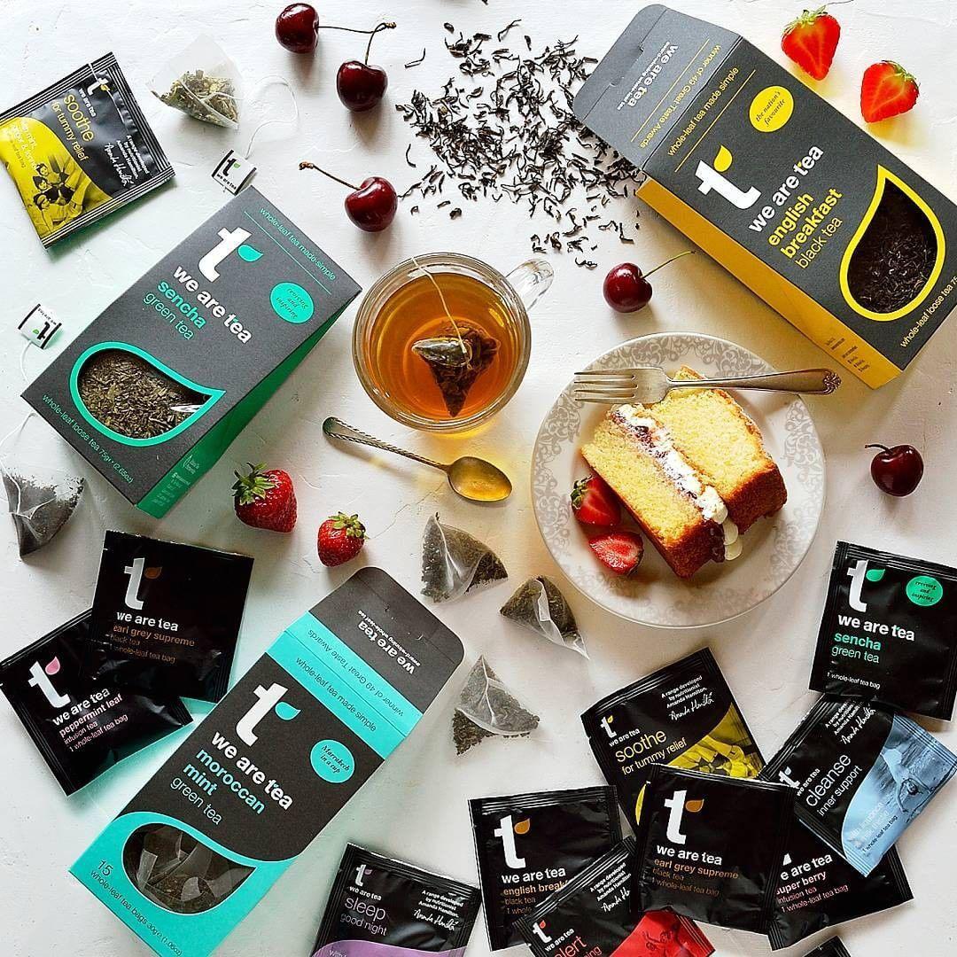 Tea range by We Are Tea