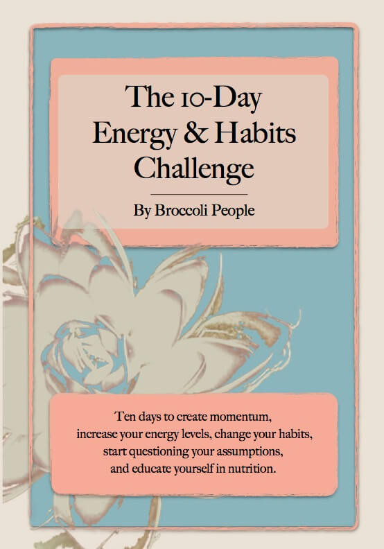 The 10 Day Energy & Habits Challenge Book - Guidance To Create New Healthy Habits & Track Progress