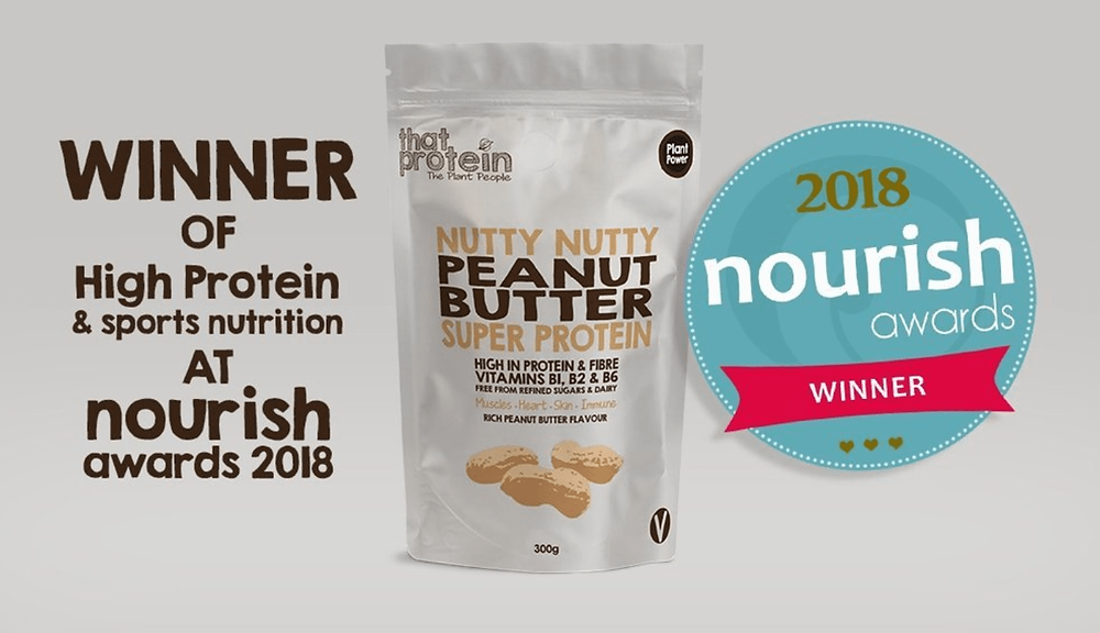 That Protein's Nutty Nutty Peanut Butter Super Protein Wins Best Protein & Sports Nutrition Award