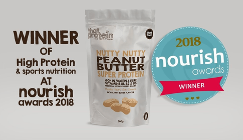That Protein's Nutty Nutty Peanut Butter Super Protein Wins Best Protein & Sports Nutrition