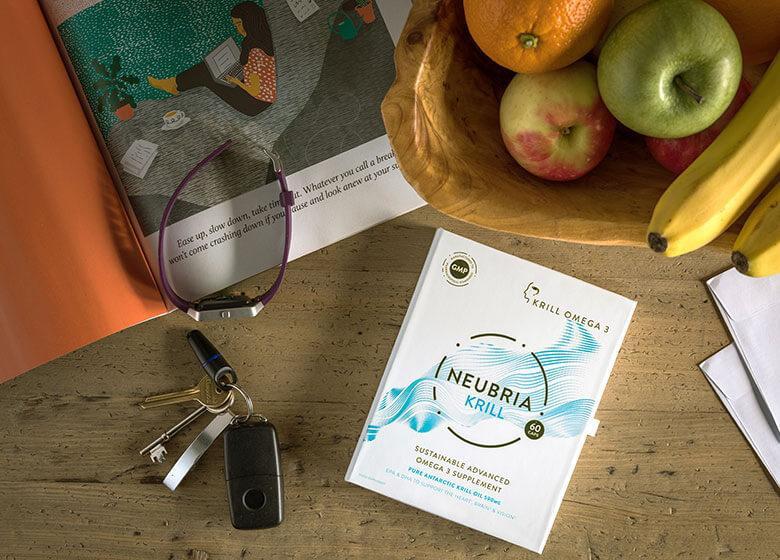 Neubria Krill - a superior source of omega 3