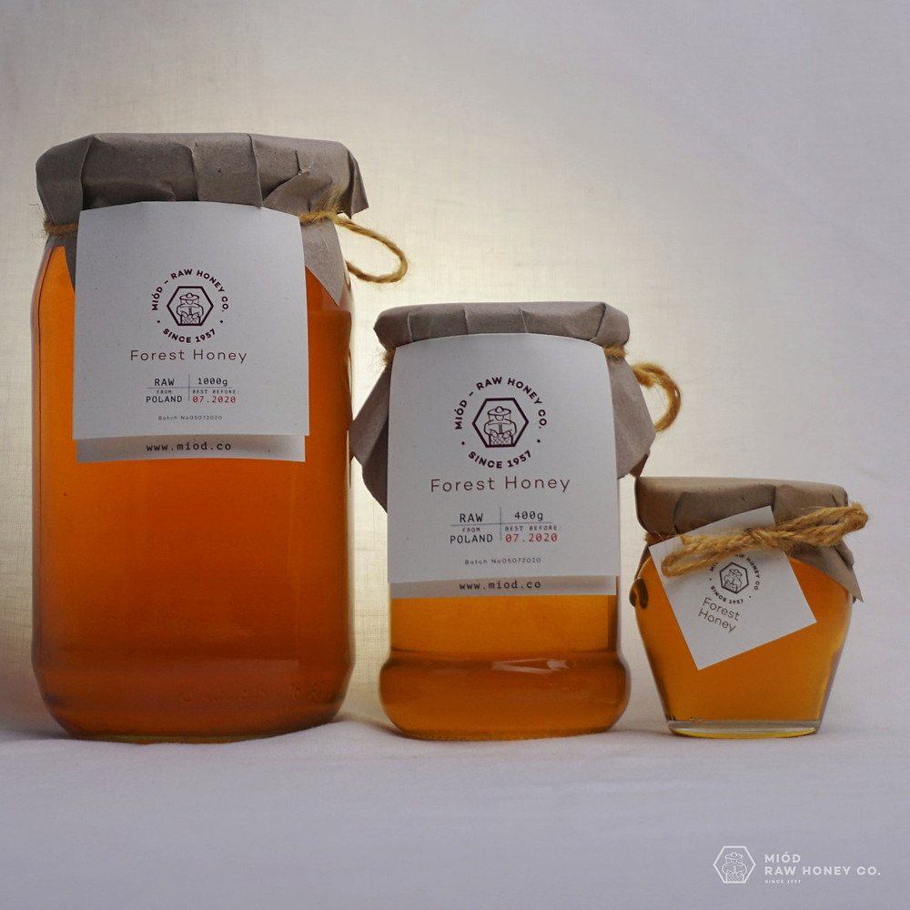 Raw Forest Honey by Miod Raw Honey Co.