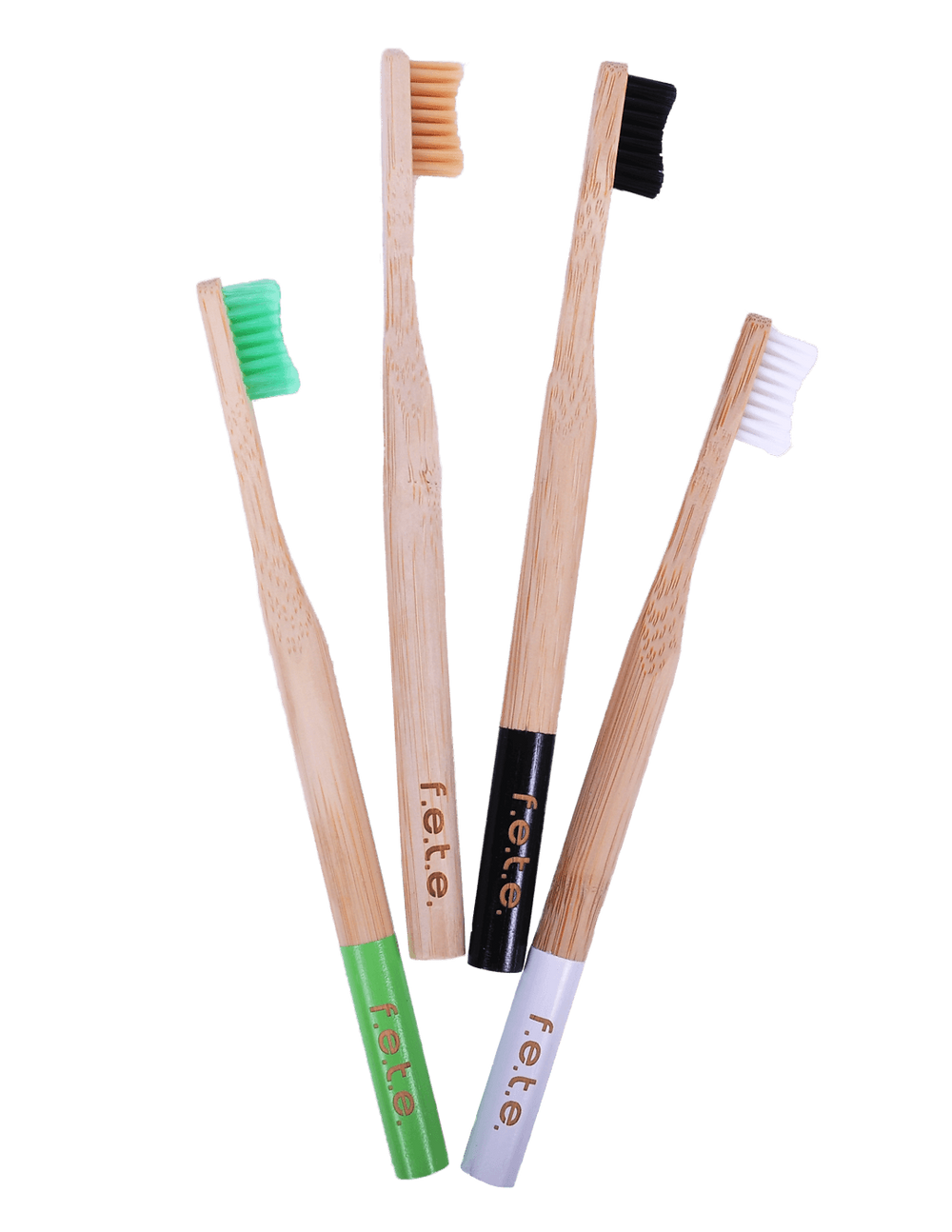 F.E.T.E. (From Earth To Earth) Plastic-Free, Bamboo Toothbrushes