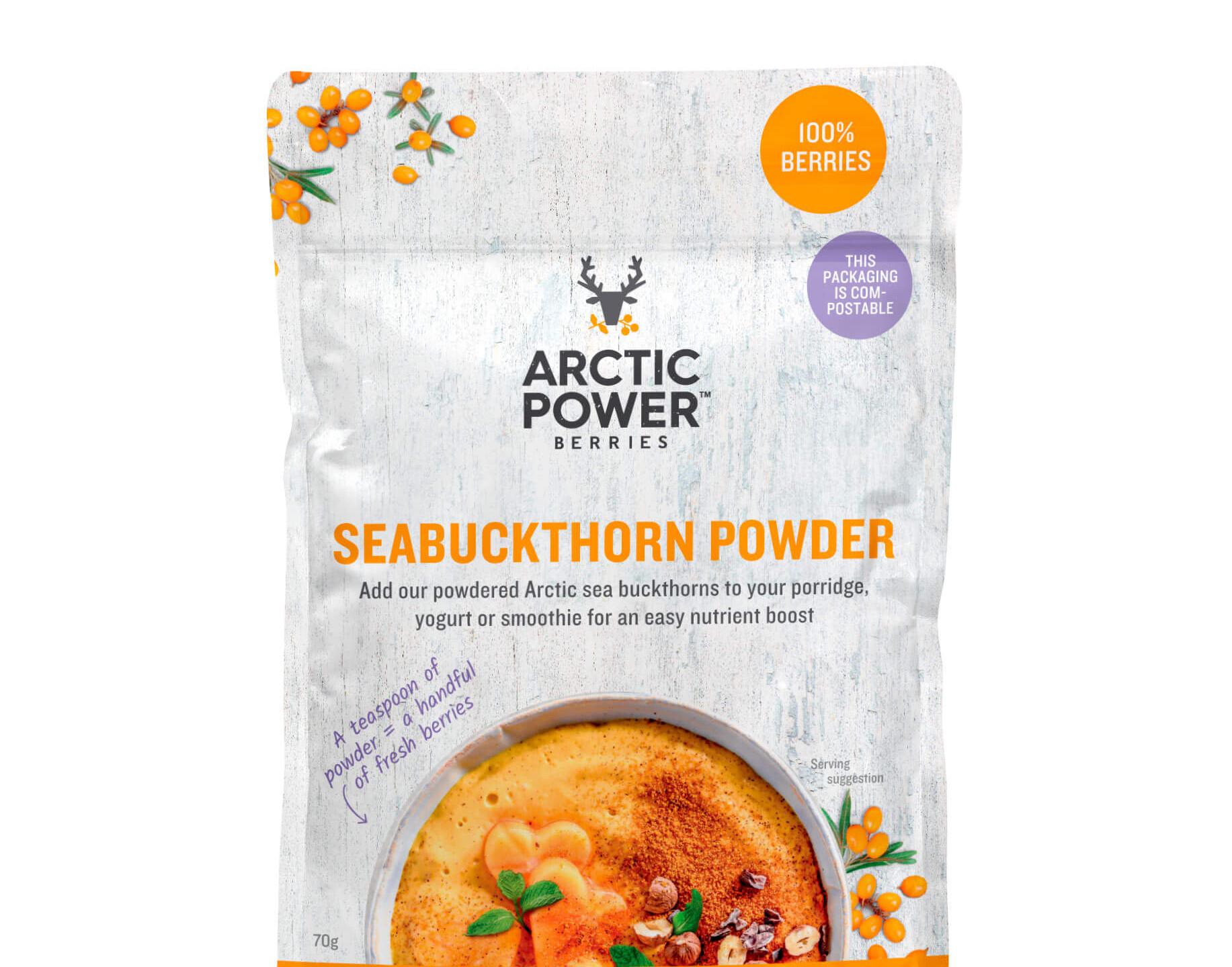 Pure Sea Buckthorn Powder