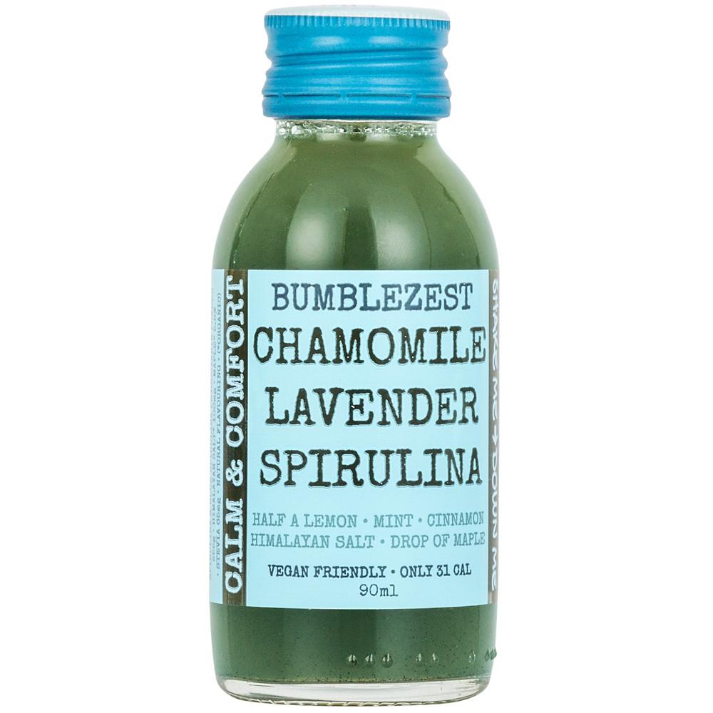 shop.lifebyequipe.com bumblezest calm and comfort vegan health shots chamomile lavender spirulina