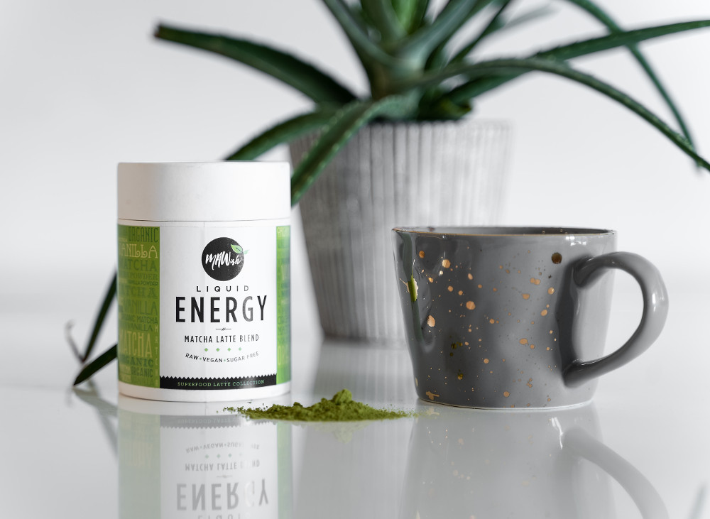 Liquid Energy Vegan Matcha Latte Blend