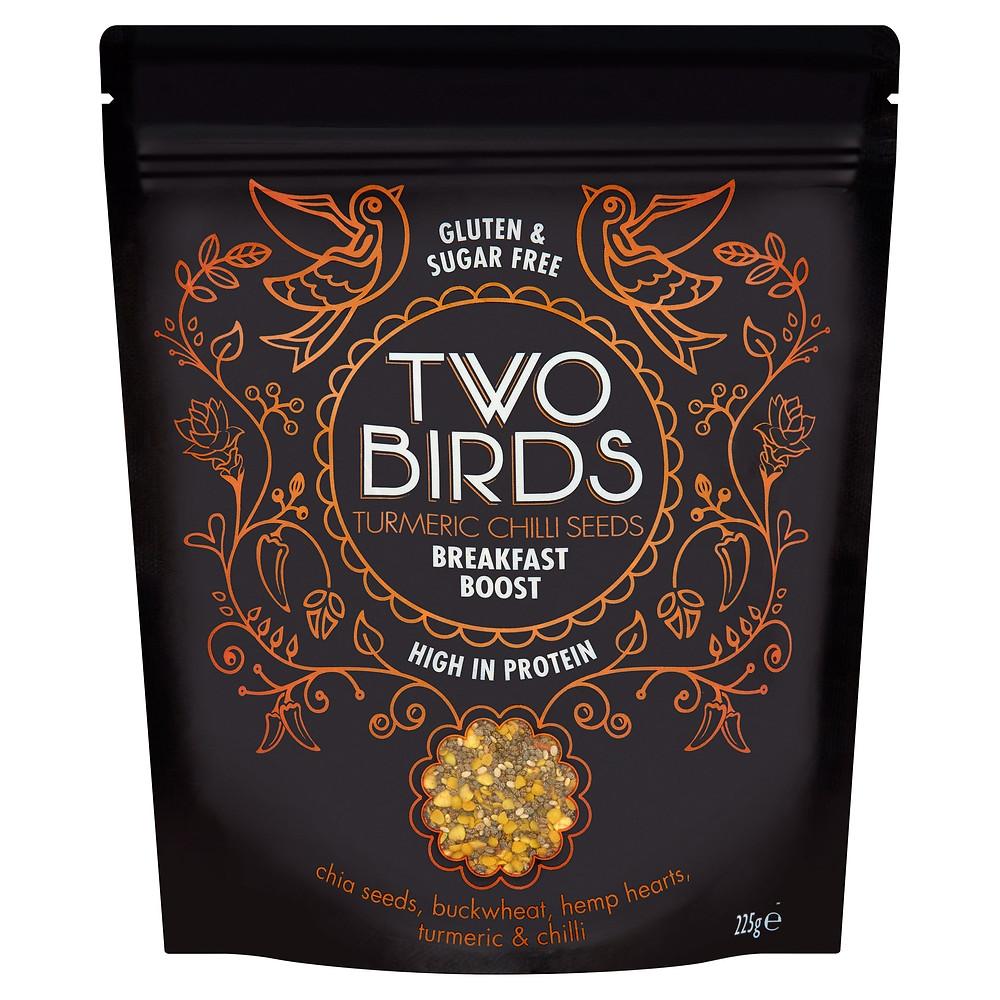 Turmeric Chilli Seeds Breakfast Boost - Two Birds Cereals