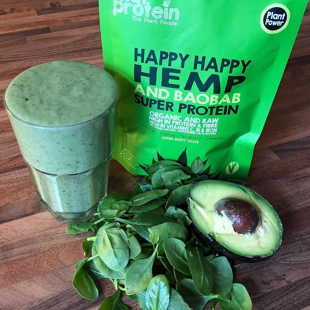Happy Happy Hemp & Baobab Super Protein Powder - That Protein