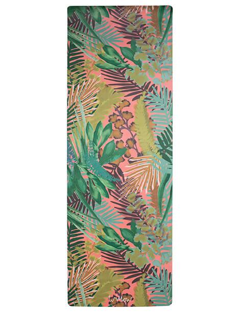 Kew Tropics Hot Pink Yoga Mat by Willow Yoga
