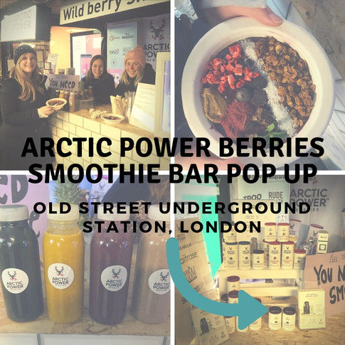 Arctic Power Berries - Old Street Smoothie Bar Pop Up