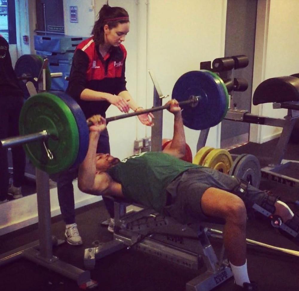 Julie Gooderick Strength & Conditioning Coach