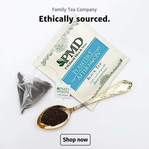 Save 25% On Ethically Sourced PMD Tea - Speciality Tea For Tea Lovers