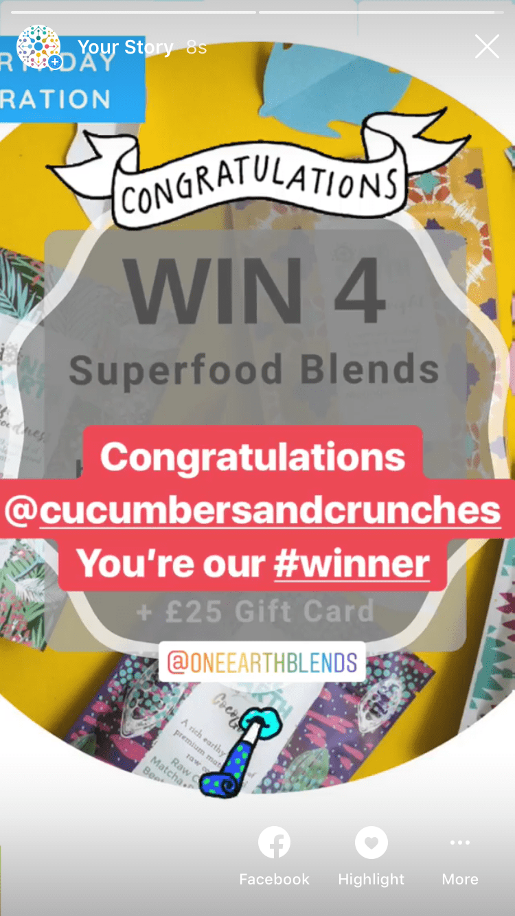Winner of 4 Superfood Blends Of Your Choice Enriched With Ethically Sourced Cacao, Beetroot, Baobab, Chia, Acai Berry, Matcha or Acerola Cherry + £25 Gift Card