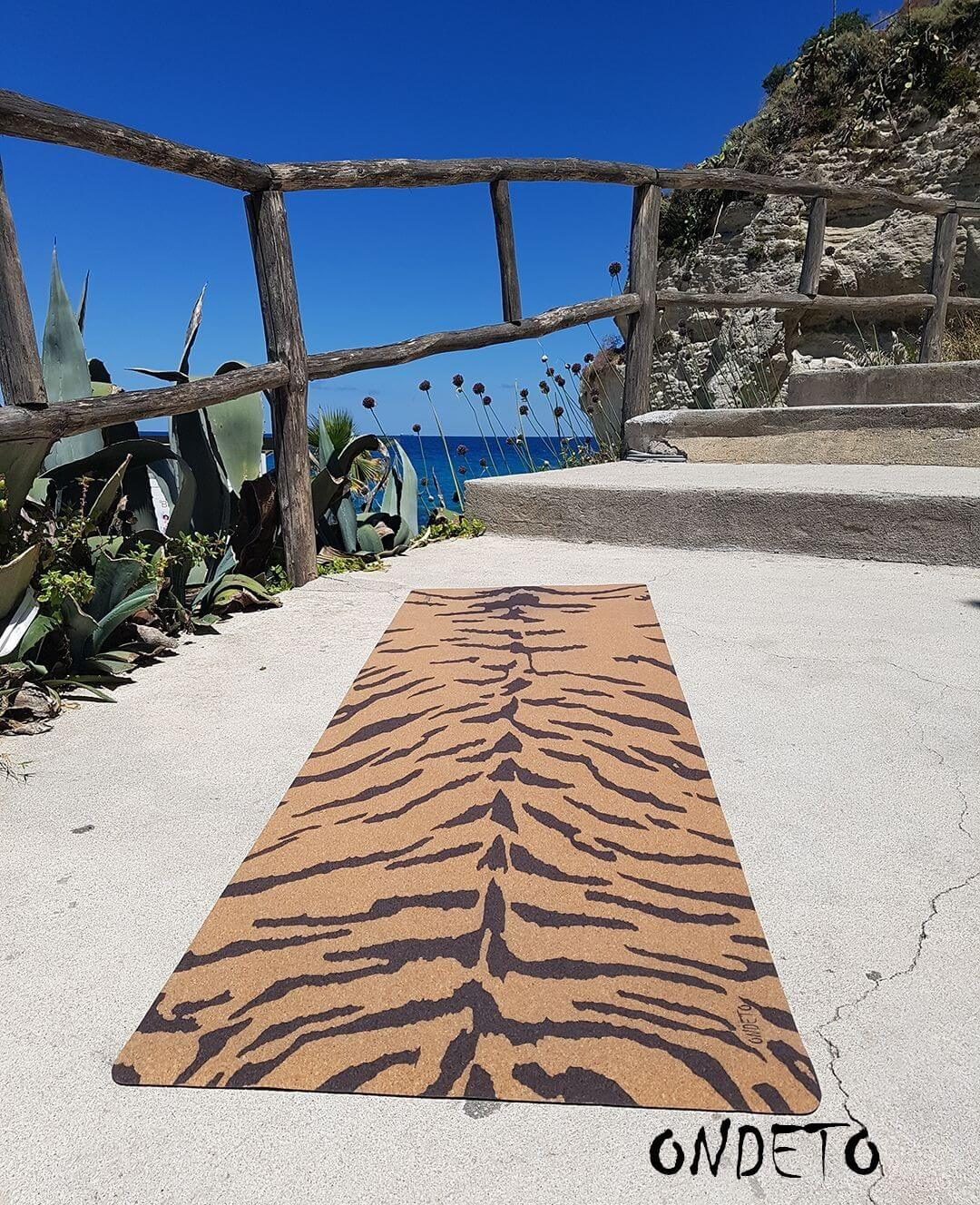 Pure Bengal Cork Yoga Mat by ONDETO