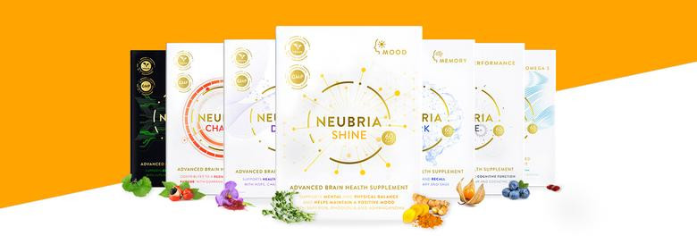 Neubria Brain Health Supplements For Memory, Performance, Motivation, Mood & Sleep