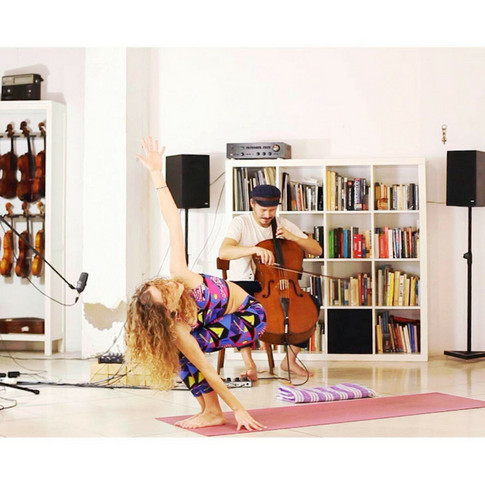 Dynamic Yoga Flow & Live Music Class - Download the Full 60 Min Video