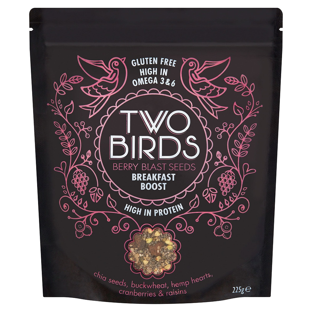 Berry Blast Seeds Breakfast Boost - Two Birds Cereals