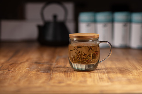 Noble Leaf Whole Leaf Teas, Glass Infusers, Flasks & Cold Brew Kits For Low, Medium or High Caff