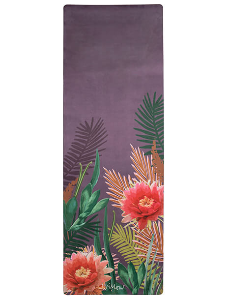 Tropicana Placement Orchid Yoga Mat Willow Yoga