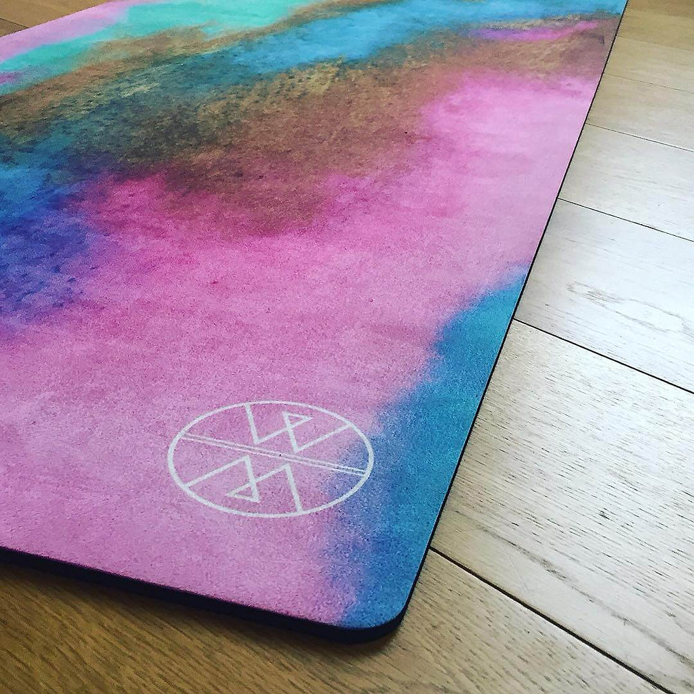 Wolf & Mermaid Eco-friendly and wonderfully unique Yoga & Meditation Mats, Bolsters, Cushions & Eye Pillows, drenched in abstract art designs and colours for conscious beings and wild souls.  All products are eco-friendly made with non toxic dyes and 100% organic filling