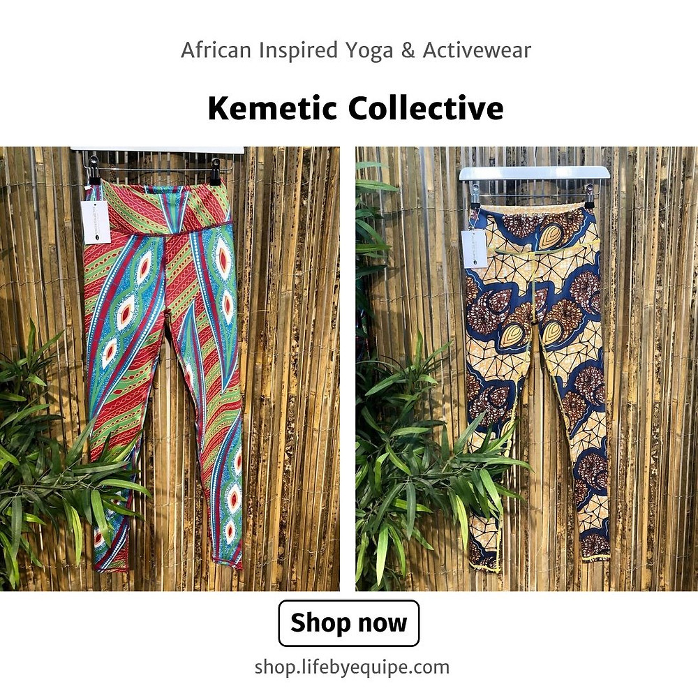 Kemetic Collective African inspired, high quality Yoga & Active Wear