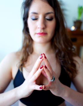Yoga Mudra Series: 10. Hakini Mudra
