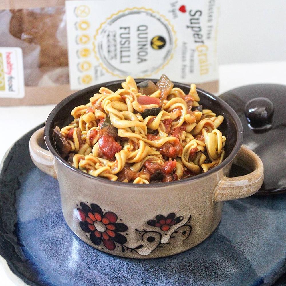 Vegan & Paleo-friendly artisan pastas Flaxseed, Green Banana, Sesame, Sorghum, Millet & Quinoa