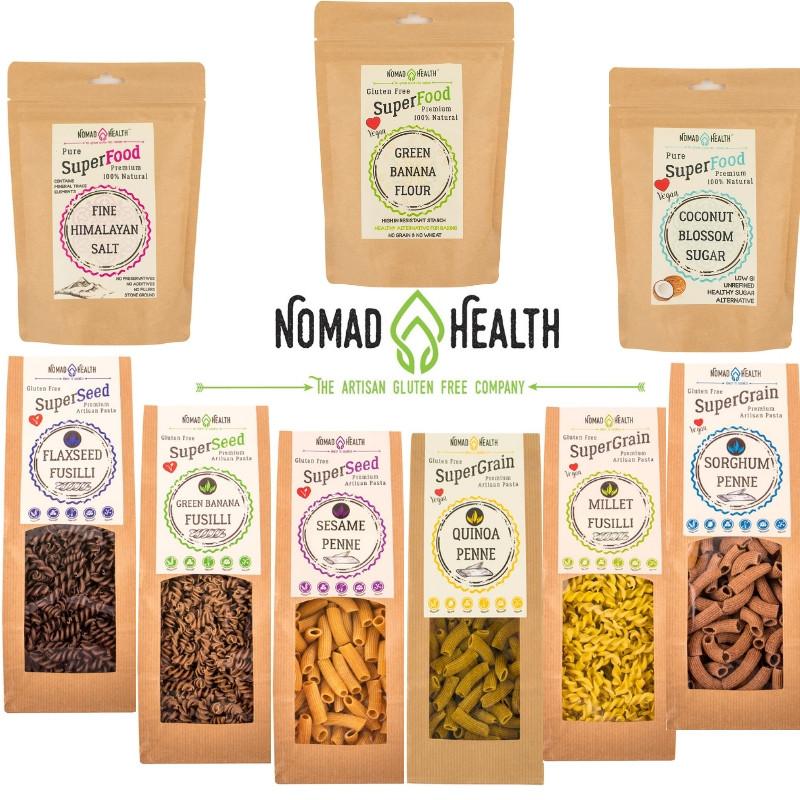 Nomad Health Gluten Free, Vegan & Paleo Artisan Pastas