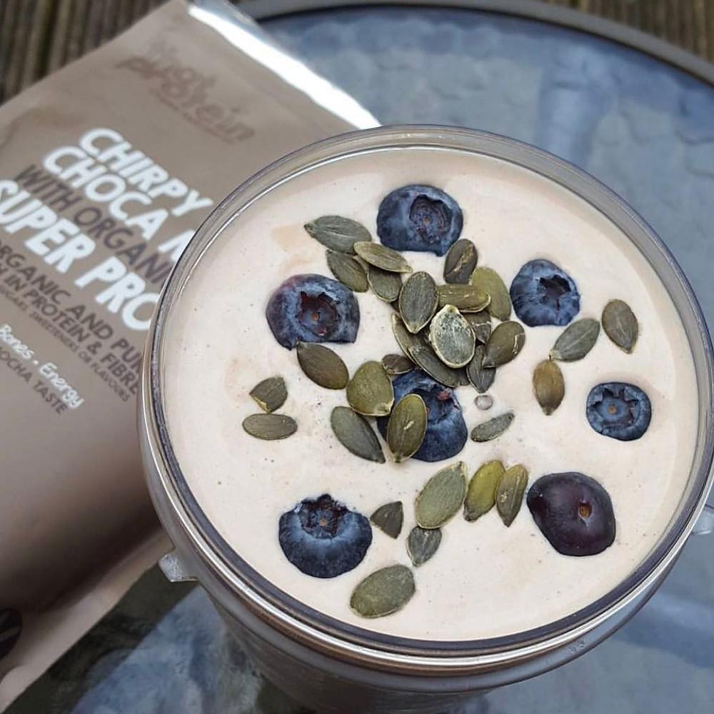 Chirpy Choca Mocha Super Protein Powder - That Protein