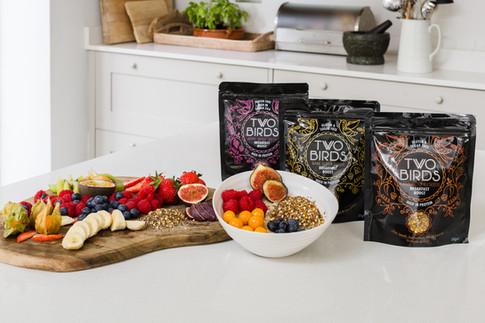 Super Seeds Breakfast Boosts by Two Bird Cereals