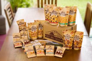 Cashews, Popcorn and Granola Vegan Snack Experiences From East Bali Cashews