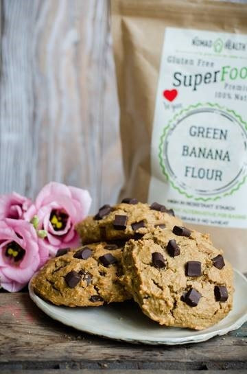Gluten, Wheat & Grain Free Green Banana Flour for Vegan baking & smoothies by Nomad Health