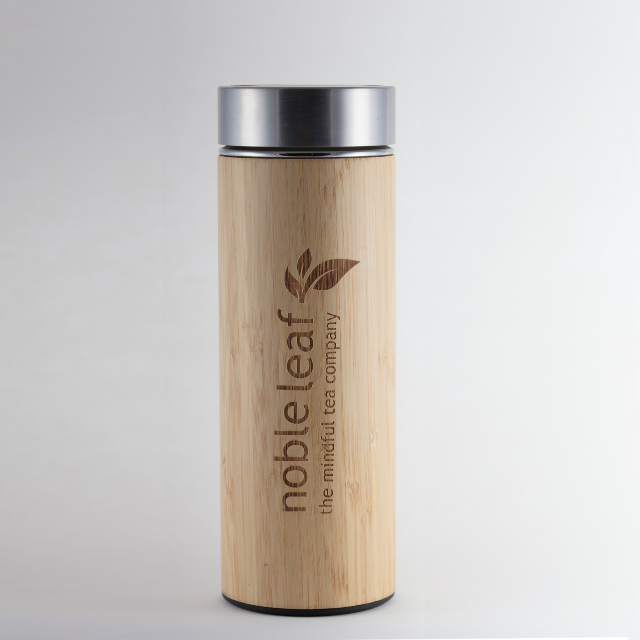 Bamboo Tea Infuser Flask
