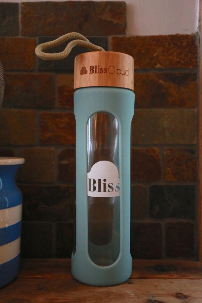 Eco Glass Water Bottle by Blisscloud