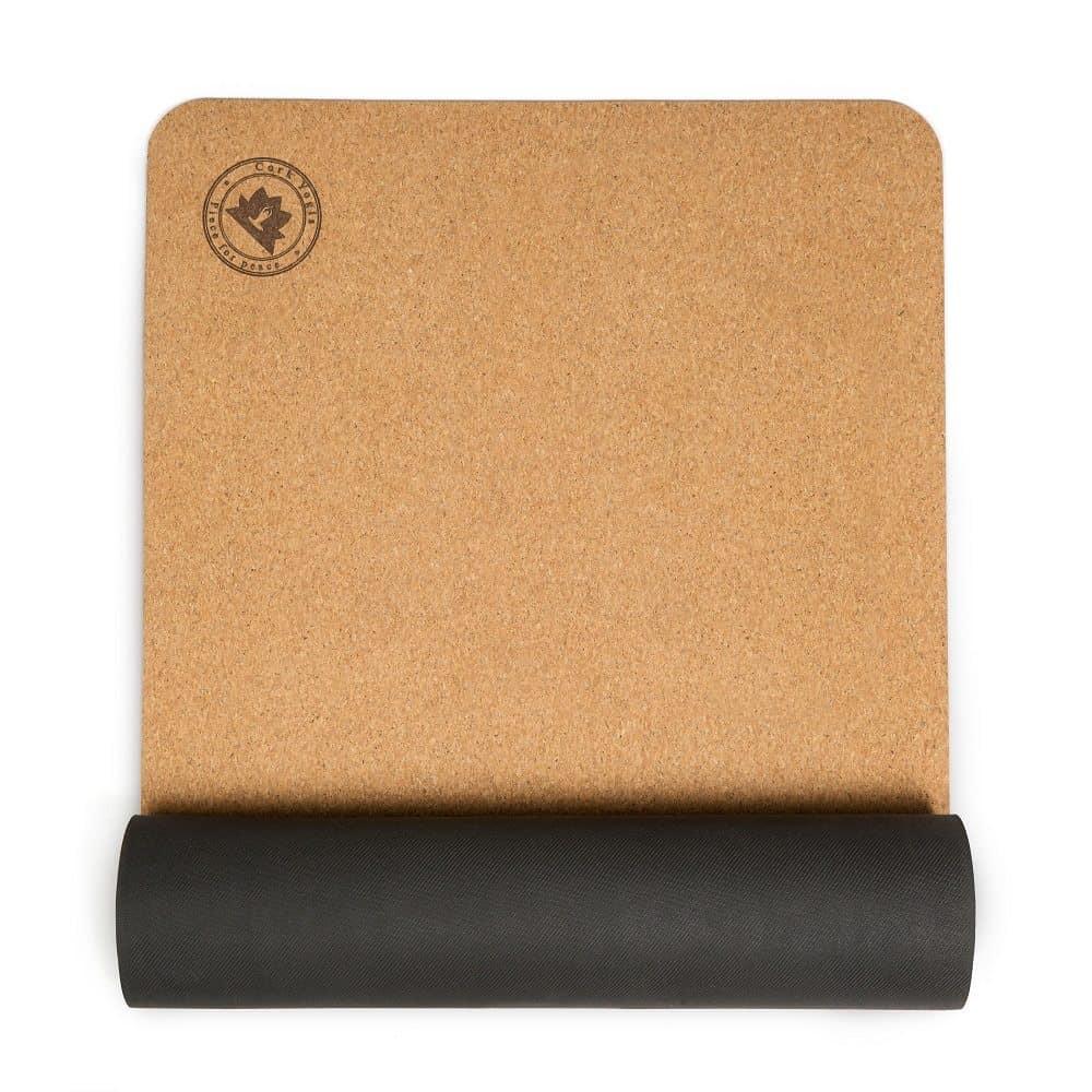 Premium Cork Yoga Mat by Cork Yogis