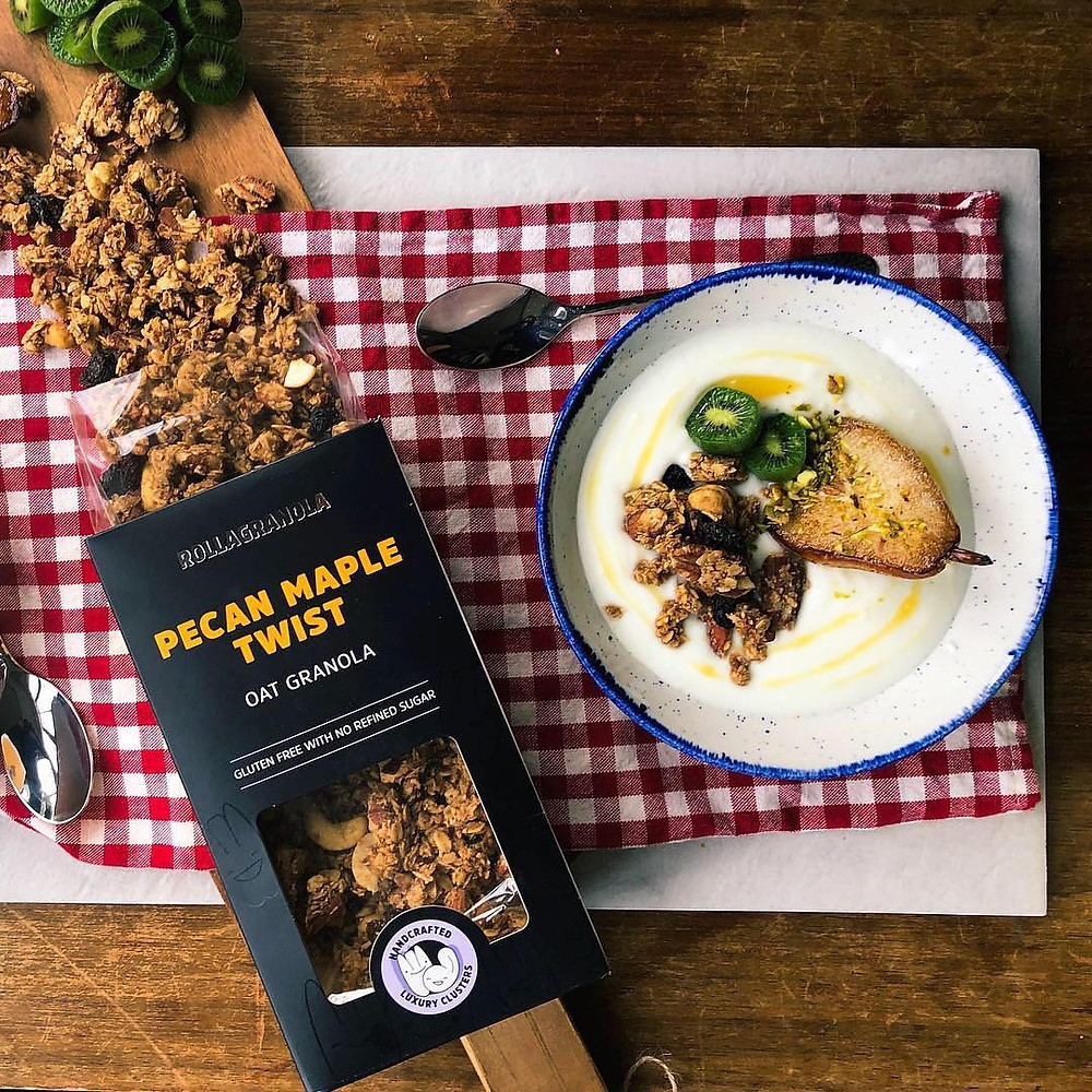 Meet Rollagranola: Top Notch Nutty Granola Which Focuses On Healthy Eating And Seriously Good Food