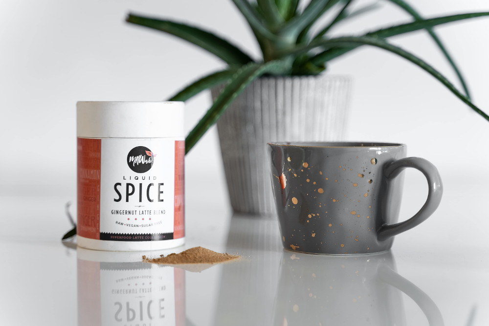 Liquid Spice Vegan Gingernut Latte Blend