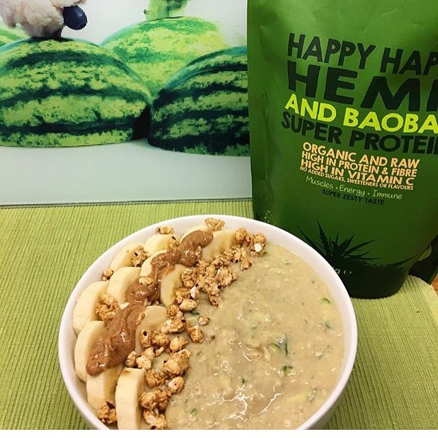 Happy Hemp & Baobab Super Protein Powder - That Protein